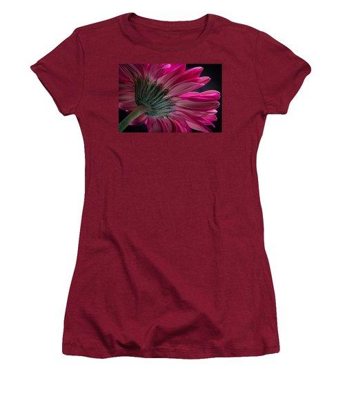 Women's T-Shirt (Junior Cut) featuring the photograph Pink Flower by Edgar Laureano