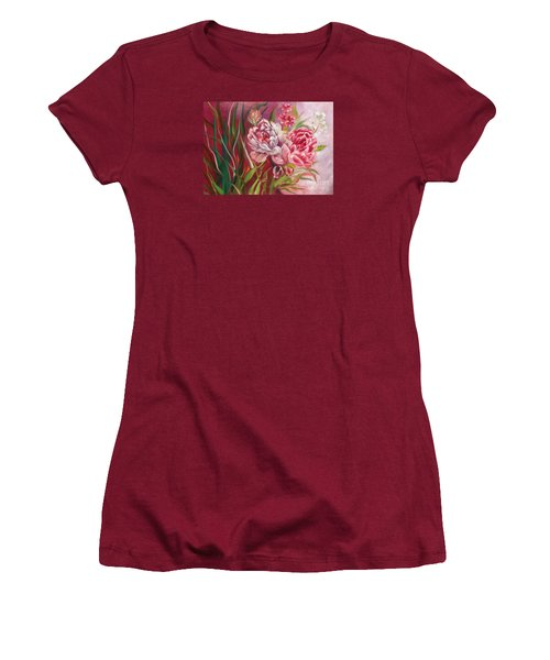 Roses Roses Women's T-Shirt (Athletic Fit)