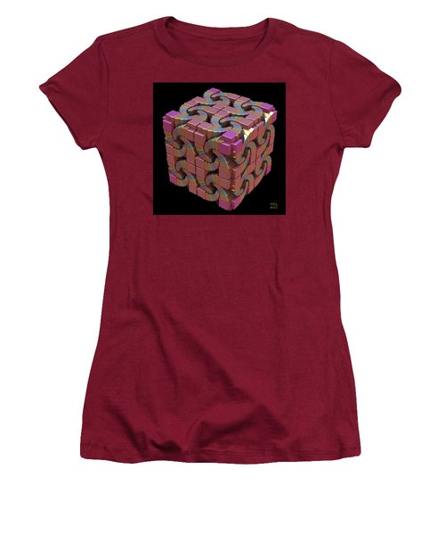 Spiral Box IIi Women's T-Shirt (Athletic Fit)