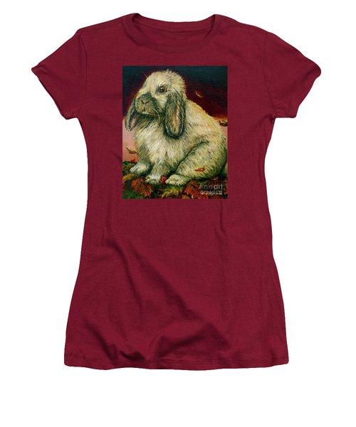Some Bunny Is A Honey Women's T-Shirt (Junior Cut) by Linda Simon