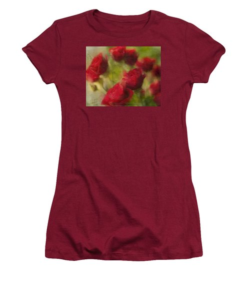 A Shower Of Roses Women's T-Shirt (Athletic Fit)