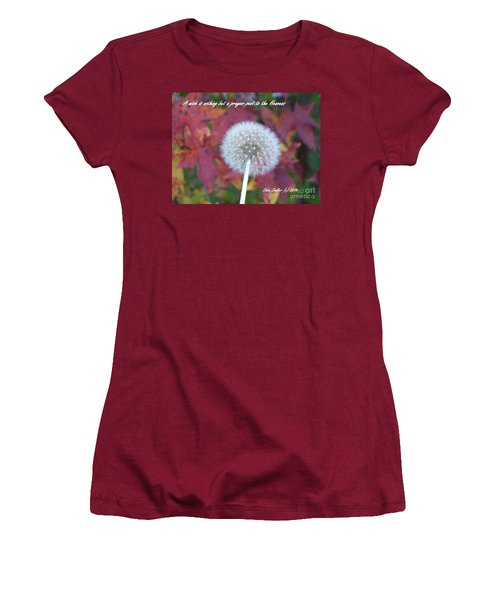 Women's T-Shirt (Junior Cut) featuring the photograph A Wish For You by Robin Coaker