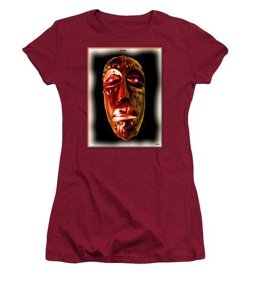 Women's T-Shirt (Junior Cut) featuring the digital art Africa by Daniel Janda