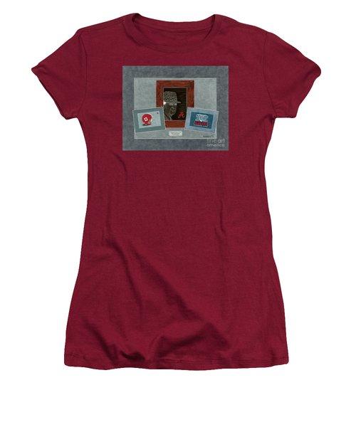 Alabama Trio  Women's T-Shirt (Junior Cut) by Herb Strobino