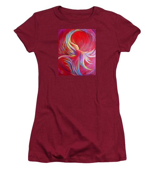 Angel Dance Women's T-Shirt (Junior Cut) by Nancy Cupp