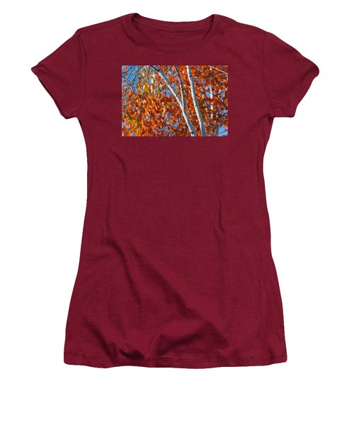 Women's T-Shirt (Junior Cut) featuring the photograph Aspen by Sebastian Musial