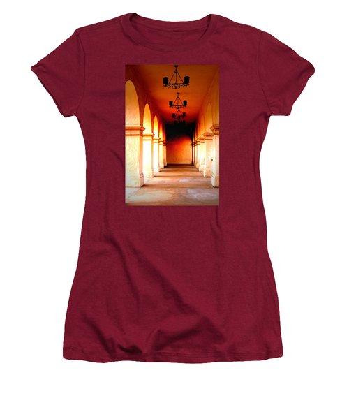 Balboa Park At Sunrise Xl Women's T-Shirt (Athletic Fit)