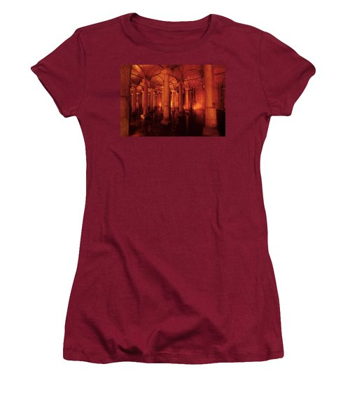 Basilica Cistern Women's T-Shirt (Athletic Fit)