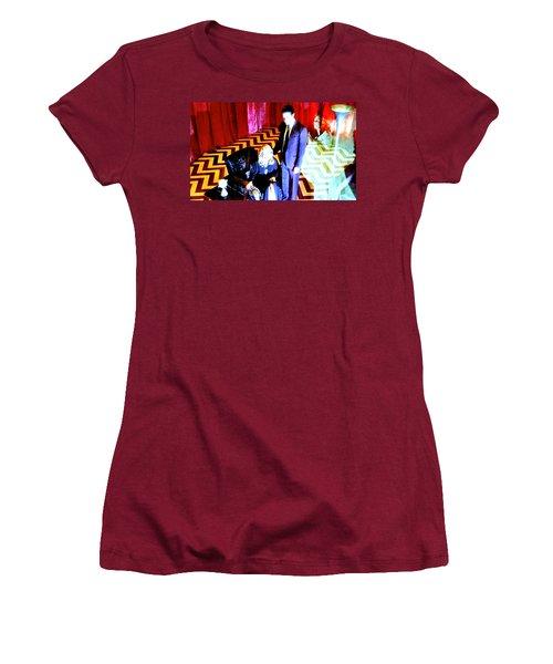 Black Lodge 2013 Women's T-Shirt (Athletic Fit)