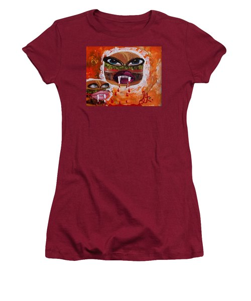 Bloody Meat Women's T-Shirt (Athletic Fit)