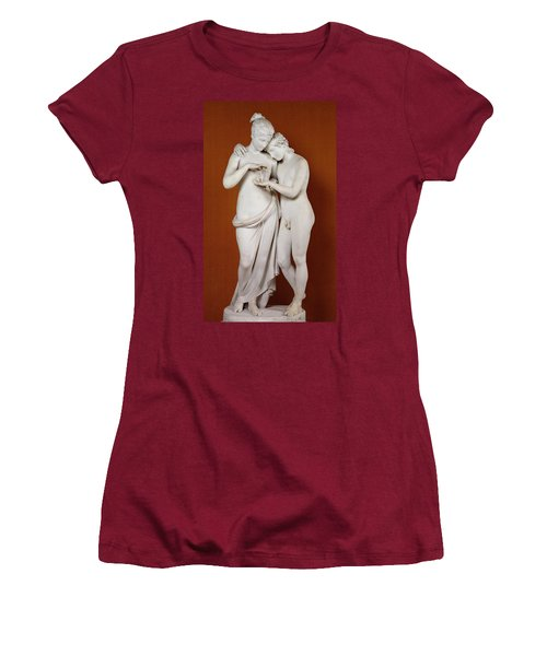 Cupid And Psyche Women's T-Shirt (Athletic Fit)