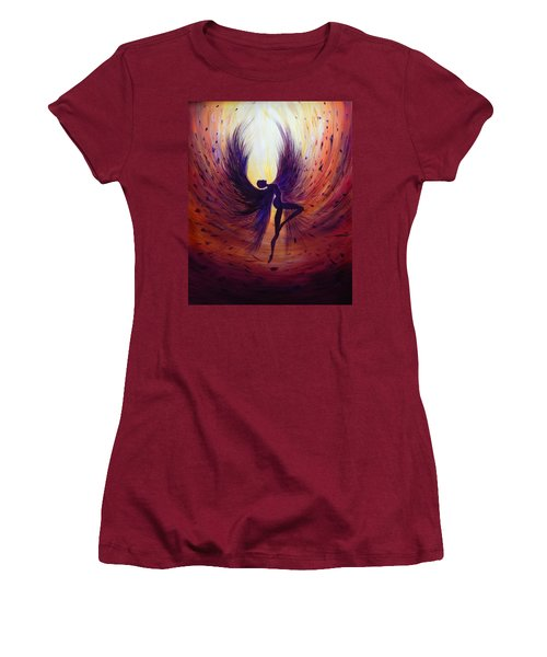 Dark Angel Women's T-Shirt (Athletic Fit)