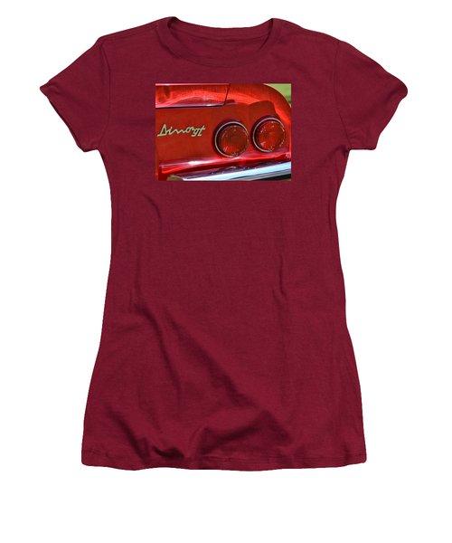 Women's T-Shirt (Junior Cut) featuring the photograph Dino Gt by Dean Ferreira