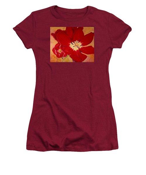 Downside One Women's T-Shirt (Junior Cut) by Jean Cormier