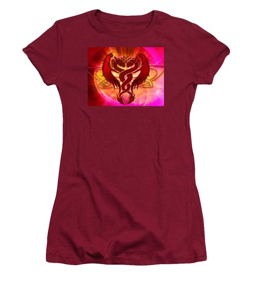 Dragon Duel Series 15 Women's T-Shirt (Athletic Fit)