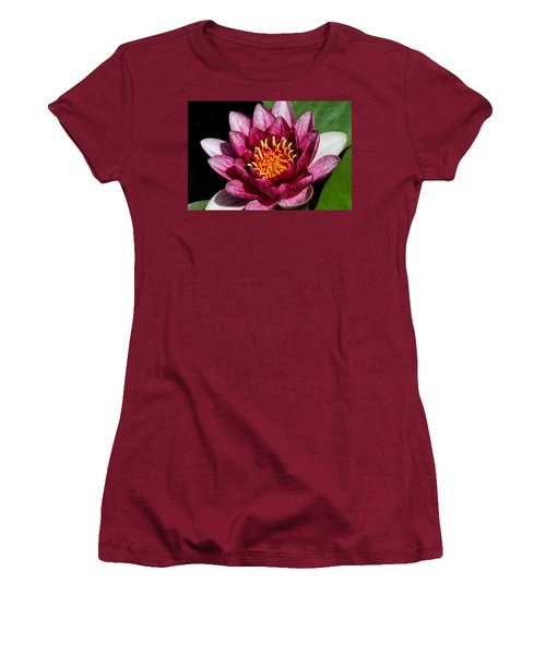 Elegant Lotus Water Lily Women's T-Shirt (Athletic Fit)