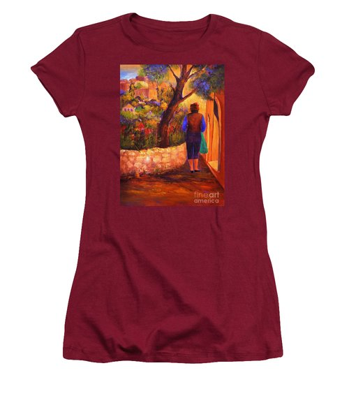 End Of The Day Women's T-Shirt (Junior Cut) by Glory Wood