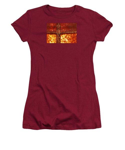 Erosion Women's T-Shirt (Junior Cut) by Wendy Wilton