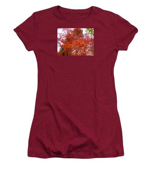 Fall Colors 6359 Women's T-Shirt (Junior Cut) by En-Chuen Soo