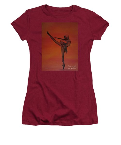 Fall Dancer 1 Women's T-Shirt (Athletic Fit)