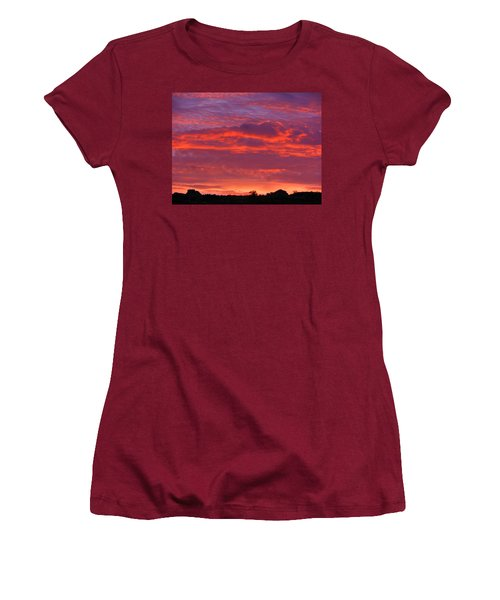 Fire In The Arizona Sky Women's T-Shirt (Athletic Fit)