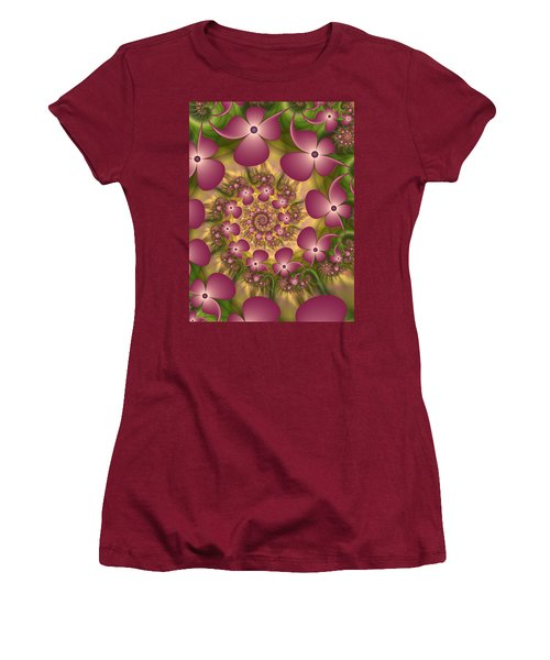 Fractal Joy Women's T-Shirt (Junior Cut) by Gabiw Art