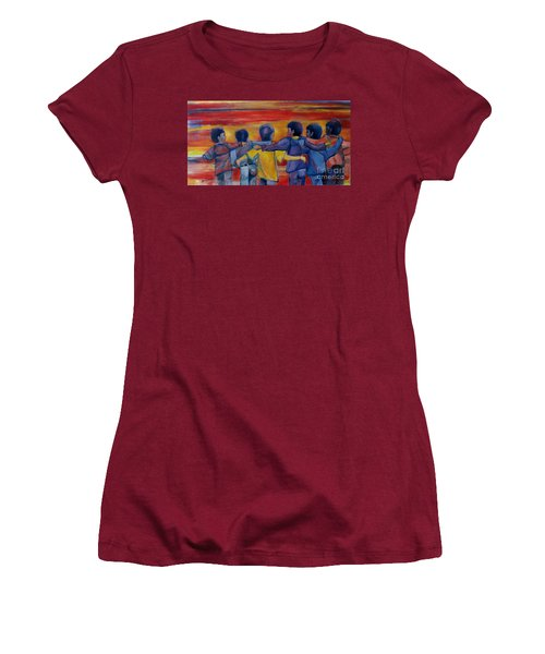 Friendship Walk - Children Women's T-Shirt (Athletic Fit)