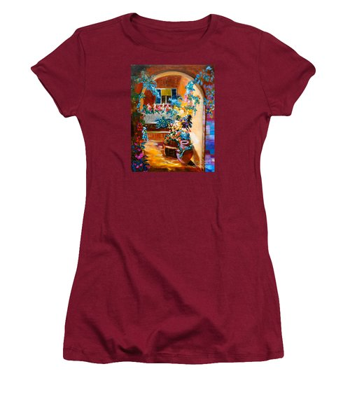 Garden Gazebo Women's T-Shirt (Athletic Fit)