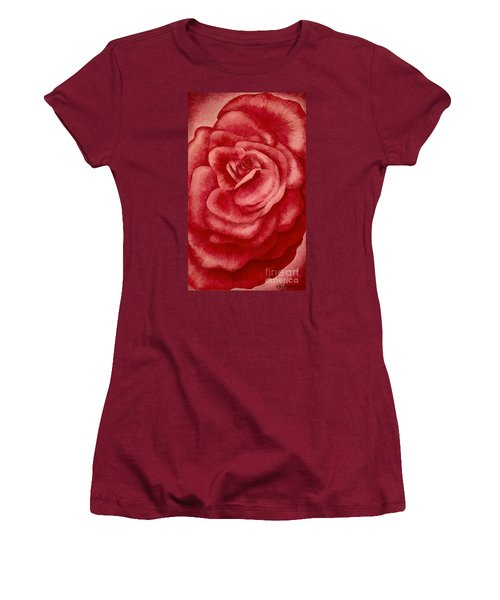 Garden Rose Women's T-Shirt (Athletic Fit)