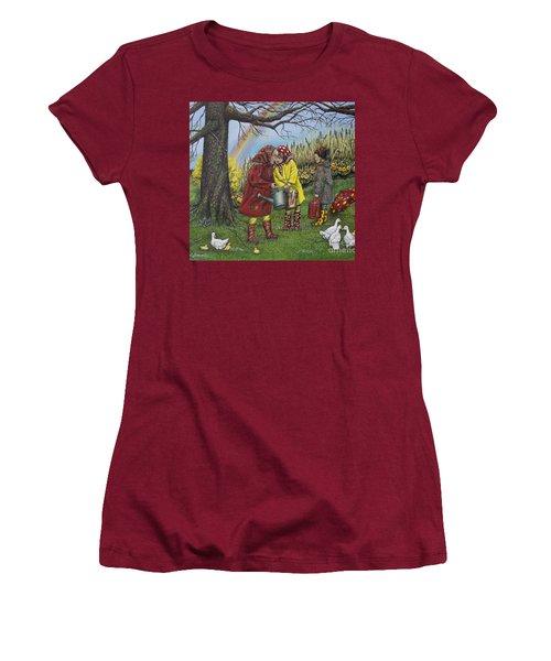Girls Are Better Women's T-Shirt (Junior Cut) by Linda Simon