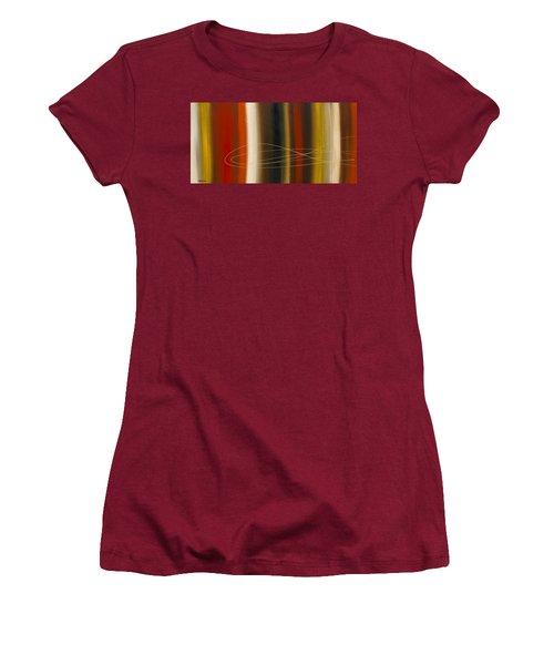 Gold Rush Women's T-Shirt (Junior Cut) by Carmen Guedez