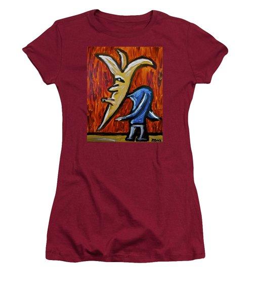 Happiness 12-001 Women's T-Shirt (Junior Cut) by Mario Perron
