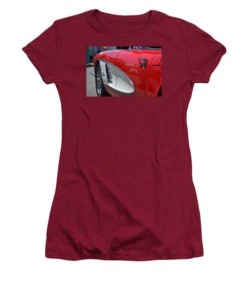 Women's T-Shirt (Junior Cut) featuring the photograph Hr-37 by Dean Ferreira