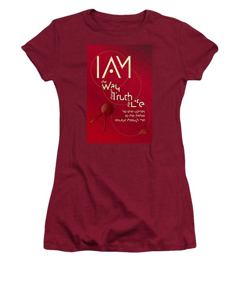 I Am The Way Women's T-Shirt (Athletic Fit)