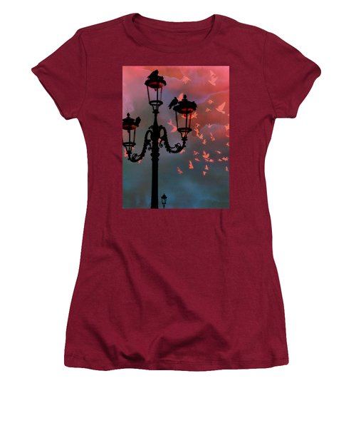 Women's T-Shirt (Junior Cut) featuring the photograph Il Volo by Micki Findlay