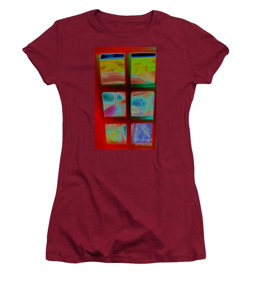 Look Through Any Window Women's T-Shirt (Athletic Fit)