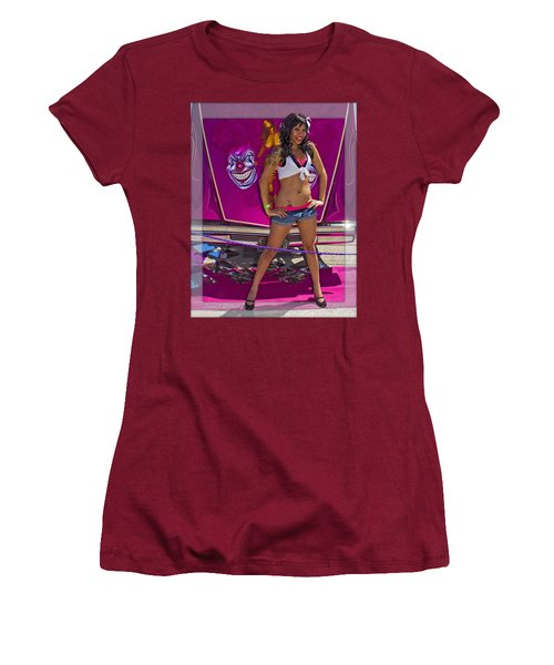Lowrider_18b Women's T-Shirt (Athletic Fit)