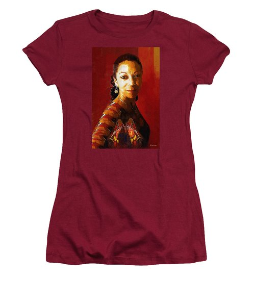 Madame Exotic Women's T-Shirt (Junior Cut) by RC deWinter