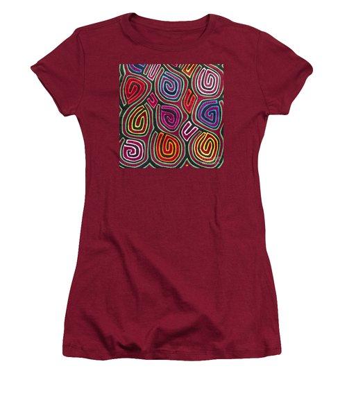 Mola Art Women's T-Shirt (Junior Cut) by Heiko Koehrer-Wagner