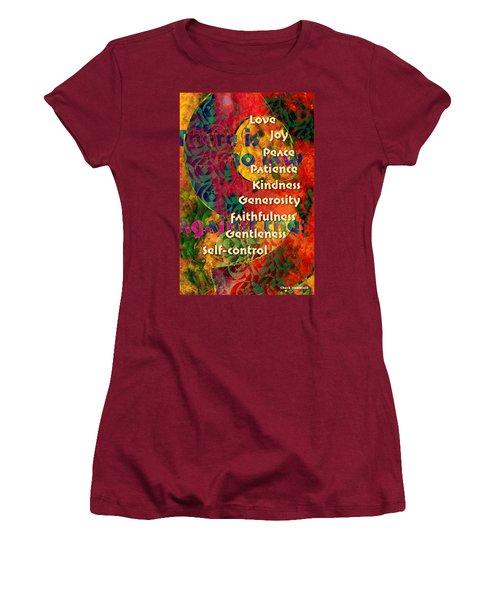 Nine Gifts Women's T-Shirt (Junior Cut) by Chuck Mountain