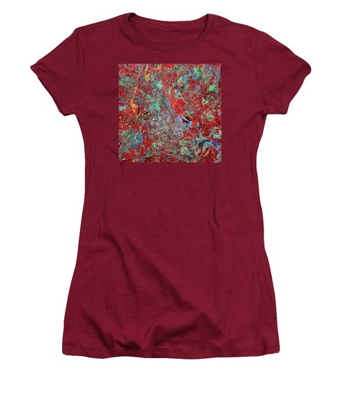 Paint Number Twenty Five Women's T-Shirt (Athletic Fit)