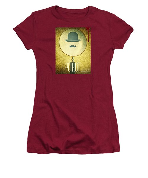 Poirot Women's T-Shirt (Athletic Fit)