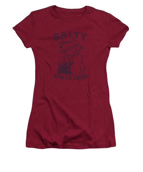 Popeye - Salty Dog Women's T-Shirt (Athletic Fit)