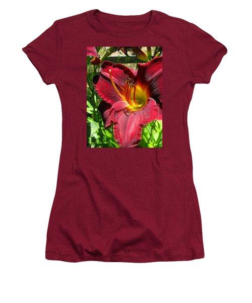 Women's T-Shirt (Junior Cut) featuring the photograph Pretty As A Picture by Brooks Garten Hauschild