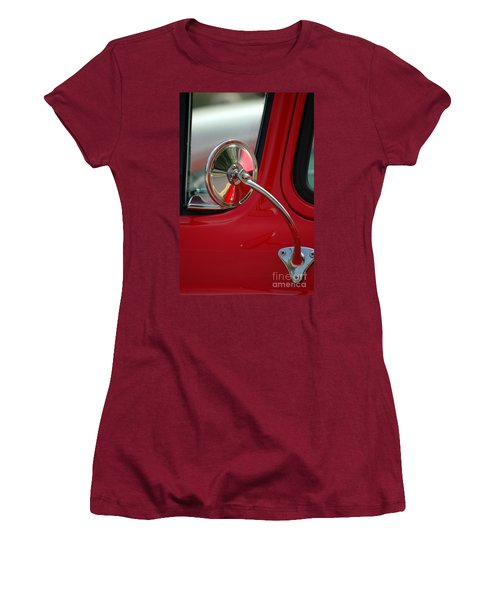 Women's T-Shirt (Athletic Fit) featuring the photograph Rear View by Christiane Hellner-OBrien