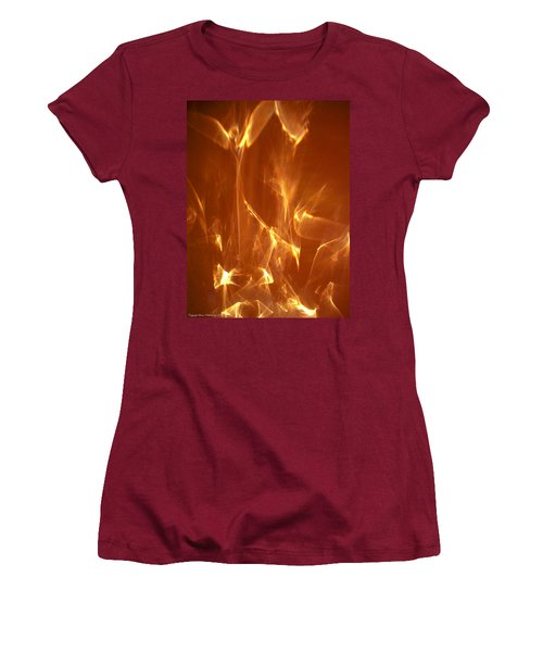 Reflected Angel Women's T-Shirt (Junior Cut) by Leena Pekkalainen
