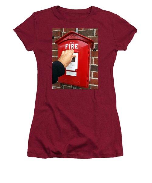 Self Control Is A Good Thing. Women's T-Shirt (Junior Cut) by Lon Casler Bixby