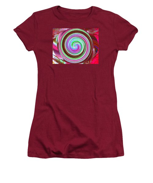 Shell Shocked Women's T-Shirt (Junior Cut) by Catherine Lott
