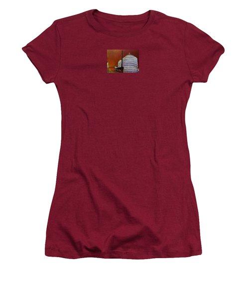 Silos With Sienna Sky Women's T-Shirt (Junior Cut) by Susan Williams