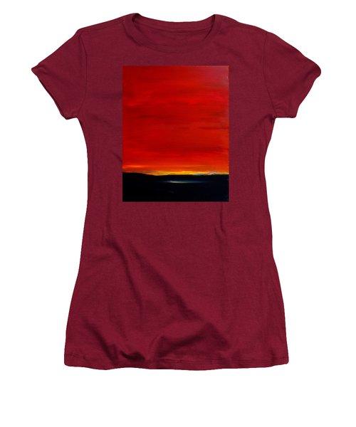 Southwest Desert Sunrise Women's T-Shirt (Athletic Fit)